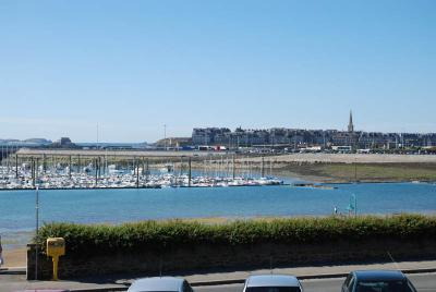 Saint-Servan, its marina a place for quiet and peaceful holiday